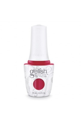 Nail Harmony Gelish - 2017 New Cap/Bottle Design - Hot Rod Red - 0.5oz / 15ml