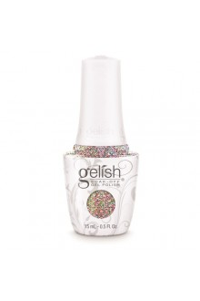 Nail Harmony Gelish - 2017 New Cap/Bottle Design - Lots Of Dots - 0.5oz / 15ml