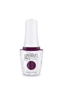 Nail Harmony Gelish - 2017 New Cap/Bottle Design - Plum And Done - 0.5oz / 15ml