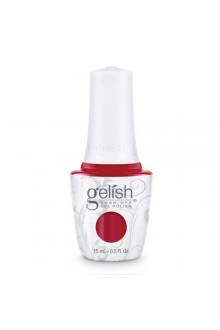 Nail Harmony Gelish - 2017 New Cap/Bottle Design - Red Roses - 0.5oz / 15ml