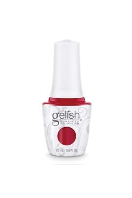 Nail Harmony Gelish - 2017 New Cap/Bottle Design - Red Roses - 0.5oz / 15ml