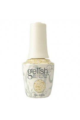Nail Harmony Gelish - Thrill Of The Chill Winter 2017 Collection - Ice Cold Gold - 15ml / 0.5oz