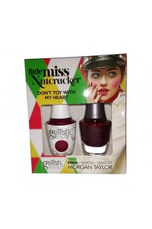 Nail Harmony Gelish & Morgan Taylor - Two of a Kind - Little Miss Nutcracker 2017 Collection - Don't Toy With My Heart
