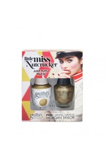 Nail Harmony Gelish & Morgan Taylor - Two of a Kind - Little Miss Nutcracker 2017 Collection - Just Tutu Much