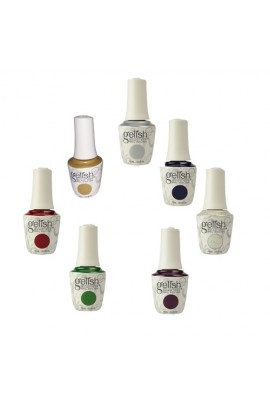 Nail Harmony Gelish - 2017 Little Miss Nutcracker Collection - 0.5oz / 15ml - All 7 Colors