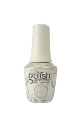 Nail Harmony Gelish - 2017 Little Miss Nutcracker Collection - Silver In My Stocking - 0.5oz / 15ml