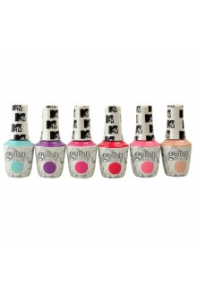 Harmony Gelish - MTV Switch On Color 2020 Collection - All 6 Colors - 15ml / 0.5oz Each