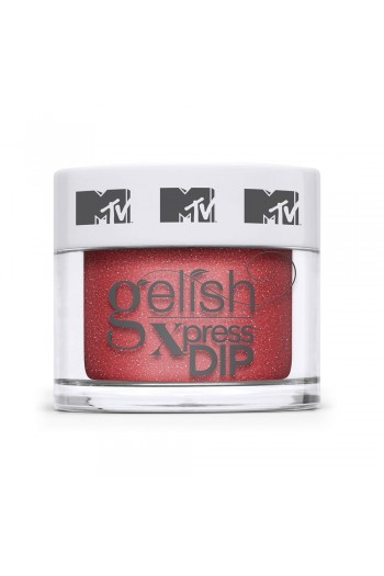 Harmony Gelish - XPRESS Dip Powder - MTV Switch On Color Collection - Total Request Red - 43g / 1.5oz