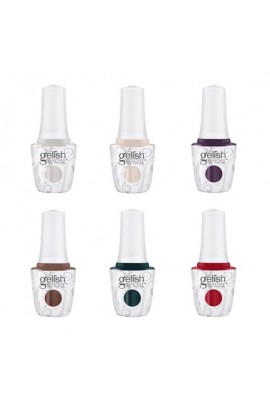 Harmony Gelish - Forever Marilyn Fall 2019 Collection - All 6 Colors - 15ml / 0.5oz Each