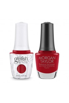 Harmony Gelish & Morgan Taylor - Two Of A Kind - Forever Fabulous Marilyn Monroe - A Kiss From Marilyn - 15 mL / 0.5 Oz