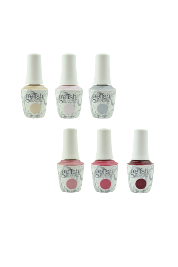 Harmony Gelish - Out In The Open Collection - All 6 Colors - 15ml / 0.5oz Each