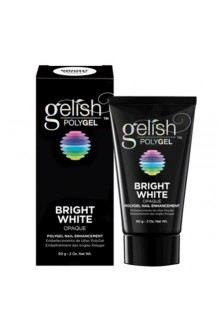 Nail Harmony Gelish - PolyGel - Bright White - 2oz / 60g