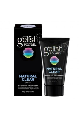 Nail Harmony Gelish - PolyGel - Natural Clear - 2oz / 60g