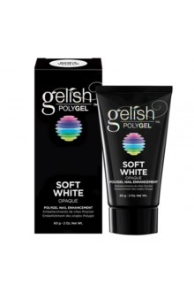 Nail Harmony Gelish - PolyGel - Soft White - 2oz / 60g