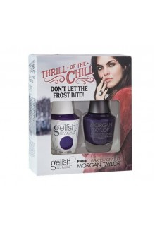 Nail Harmony Gelish & Morgan Taylor - Two of a Kind - 2017 Winter Collection - Thrill Of The Chill - Don't Let The Frost Bite!