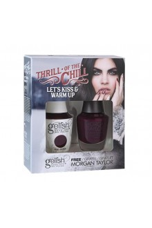 Nail Harmony Gelish & Morgan Taylor - Two of a Kind - 2017 Winter Collection - Thrill Of The Chill - Let's Kiss & Warm Up