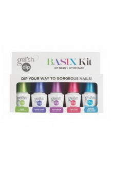 Nail Harmony Gelish - Dip Treatments - Basix Kit