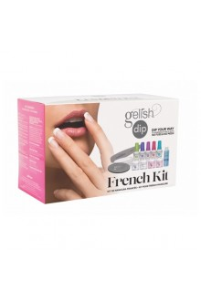Nail Harmony Gelish - Dip Treatments - French Kit