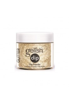 Nail Harmony Gelish - Dip Powder - All that Glitters is Gold - 0.8oz / 23g