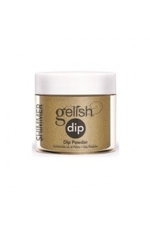 Nail Harmony Gelish - Dip Powder - Give Me Gold - 0.8oz / 23g