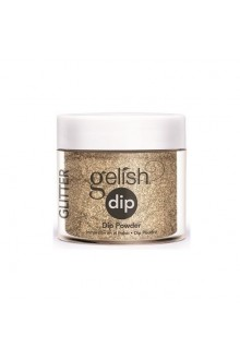 Nail Harmony Gelish - Dip Powder - Glitter & Gold - 0.8oz / 23g