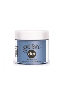 Nail Harmony Gelish - Dip Powder - Ooba Ooba Blue - 0.8oz / 23g