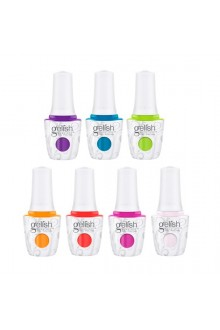 Harmony Gelish – Make a Splash 2018 Collection – All 7 Colors – 15 mL / 0.5 Fl. Oz. Each