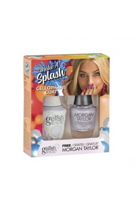 Harmony Gelish - Two of a Kind - Make a Splash 2018 Collection - Cellophane Coat