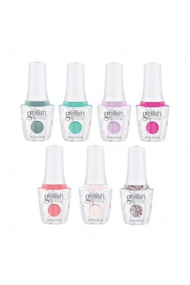Harmony Gelish - Royal Temptations Collection Spring 2018 - All 7 Colors - 15 mL / 0.5 oz each