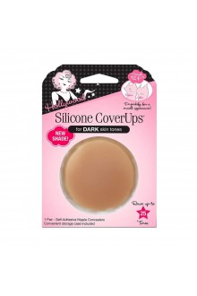 Hollywood Fashion Secrets - Silicone CoverUps - Dark Skin Tone - 1 Pair