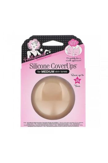 Hollywood Fashion Secrets - Silicone CoverUps - Medium Skin Tone - 1 Pair