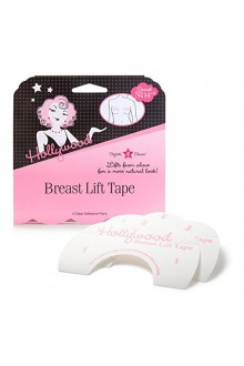 Hollywood Fashion Secrets - Breast Lift Tape - Clear - 4 Pairs