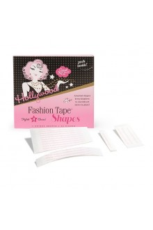 Hollywood Fashion Secrets - Fashion Tape Shapes - Four Unique Shapes - 24 Pieces