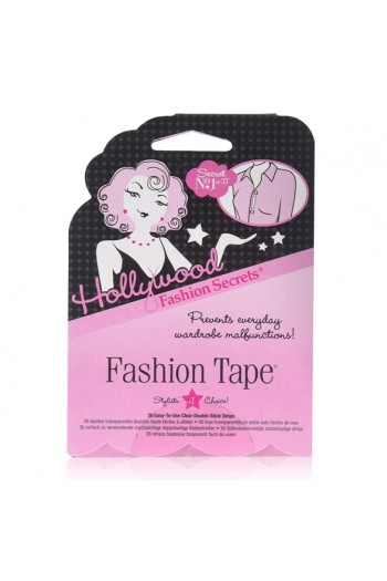 Hollywood Fashion Secrets - Fashion Tape - Clear Double-Sided Strips - 36 Count