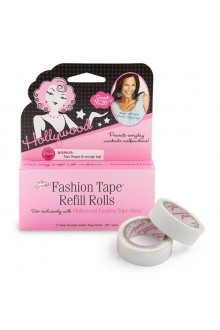 Hollywood Fashion Secrets - Fashion Tape Refill Rolls - Clear Double-Sided - 2 Rolls