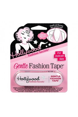 Hollywood Fashion Secrets - GENTLE Fashion Tape Tin - Clear Double-Sided Strips - 36 Count