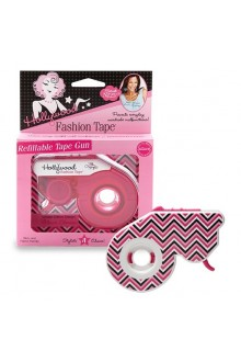 Hollywood Fashion Secrets - Fashion Tape Refillable Gun - Classic Chevron