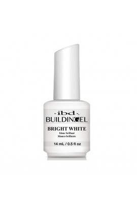 ibd - Building Gel - Hard Gel Nail Extension - Bright White - 14ml / 0.5oz