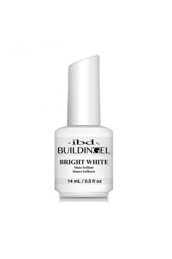 ibd - Building Gel - Hard Gel Nail Extension - Bright White - 14ml / 0.5oz