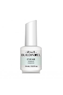 ibd - Building Gel - Hard Gel Nail Extension - Clear - 14ml / 0.5oz