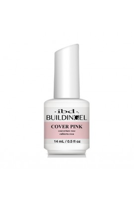 ibd - Building Gel - Hard Gel Nail Extension - Cover Pink - 14ml / 0.5oz