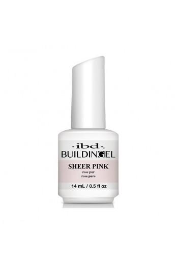 ibd - Building Gel - Hard Gel Nail Extension - Sheer Pink - 14ml / 0.5oz