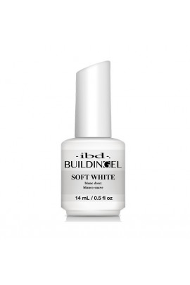 ibd - Building Gel - Hard Gel Nail Extension - Soft White - 14ml / 0.5oz