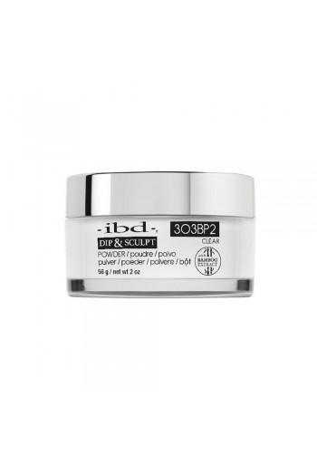 ibd Dip & Sculpt Powder - Clear - 3O3BP2 - 56g / 2oz
