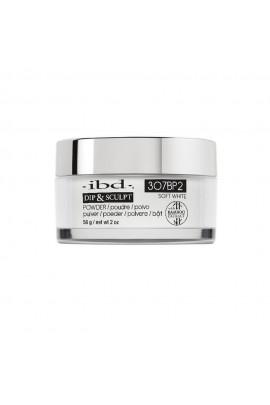 ibd Dip & Sculpt Powder - Soft White - 3O7BP2 - 56g / 2oz