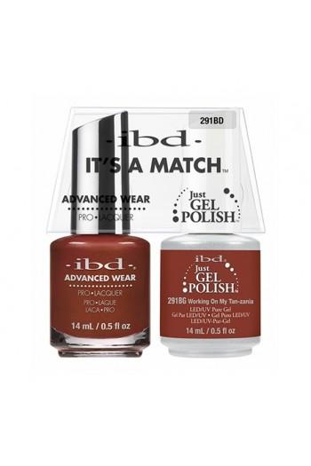 ibd - It's A Match - Duo Pack - Serengeti Soul Collection - Workin On My Tan-zania - 14ml / 0.5oz each