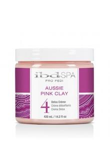ibd SPA - Pro Pedi - Aussie Pink Clay - Detox Crème - 420 ml / 14.2 oz