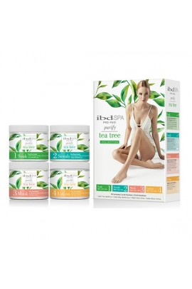 ibd Spa - Pro Pedi - Purify Tea Tree Collection - Intro Kit