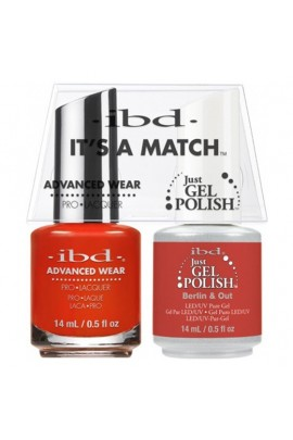 ibd - It's A Match -Duo Pack- Destination Collection - Berlin & Out - 14 mL / 0.5 oz Each