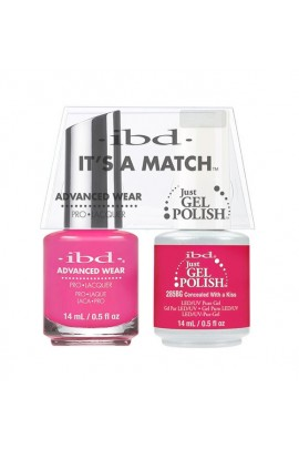 ibd - It's a Match - Duo Pack - Concealed With a Kiss - 14 ml / 0.5 oz